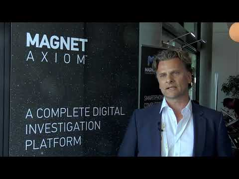 From DIC Zurich, June 2017: a chat with Peter Warnke of Magnet Forensics