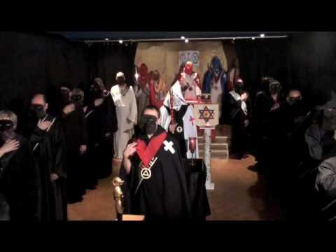 6a. Golden Dawn Pentagram Ritual (LBRP - Lesser Ba...