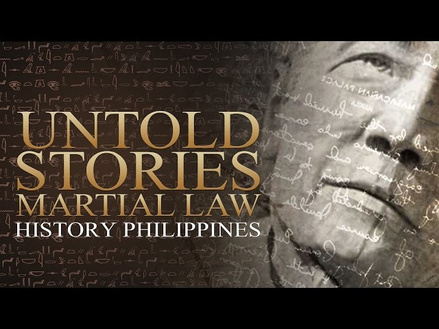 history of martial law Untold story of martial law (aquino alaala: a martial law special (full episode) full history - word of the lourd.