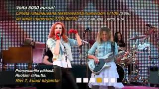 Princessa Avenue - Never Never (Again) (Finland live)