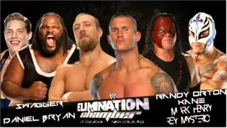 WWE ELIMINATION CHAMBER 2013 FULL MATCH CARD