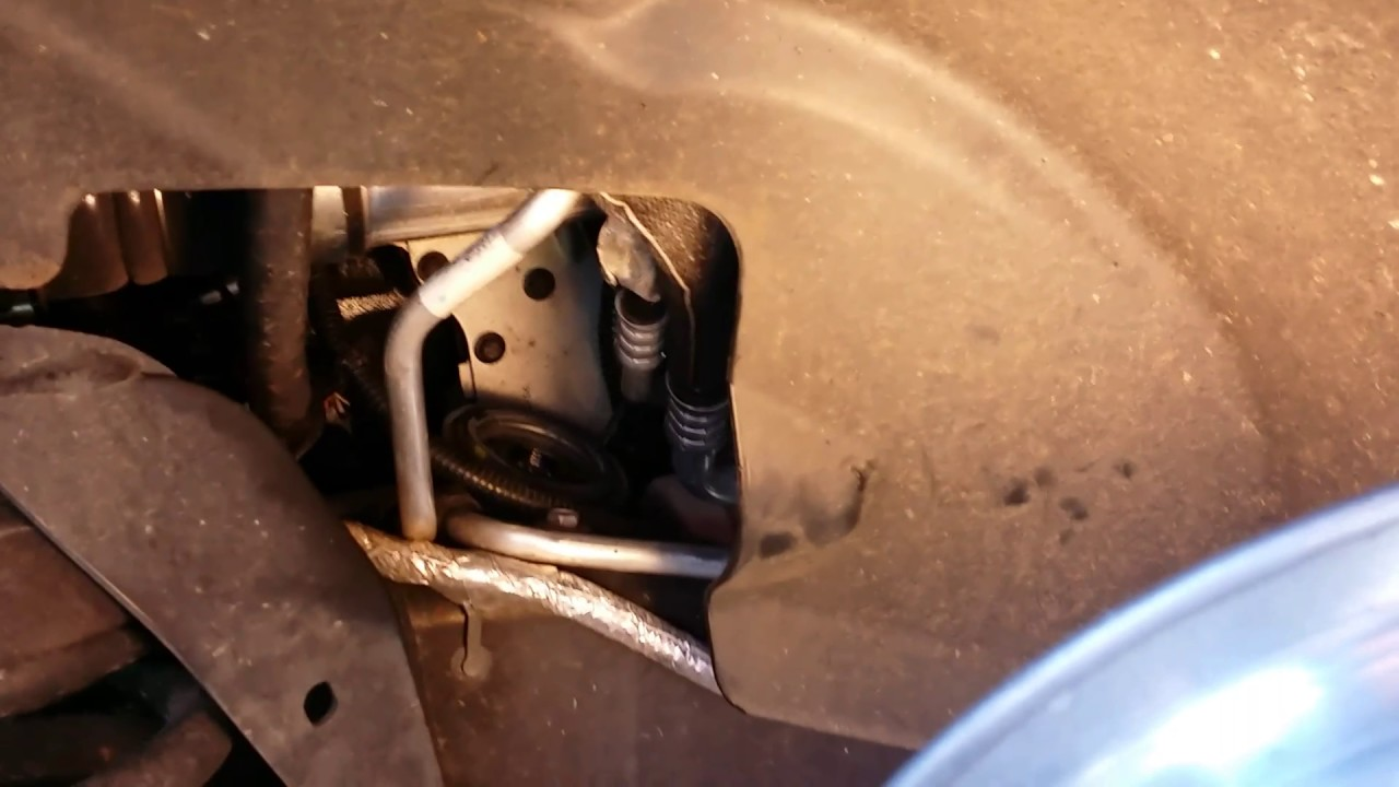. .2014 RAM 6.7 liter Cummins Oil filter change - YouTube