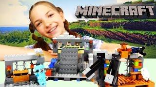 Лего Майнкрафт - портал в Эндер мир.