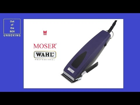 Wahl MOSER REX Adjustable Type 1233 Professional Cutting Machine UNBOXING (Clipper Dog Trimmer)