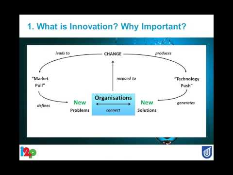 How to Manage Innovation in Your Organisation | Dr. David Cropley | Live Webinar