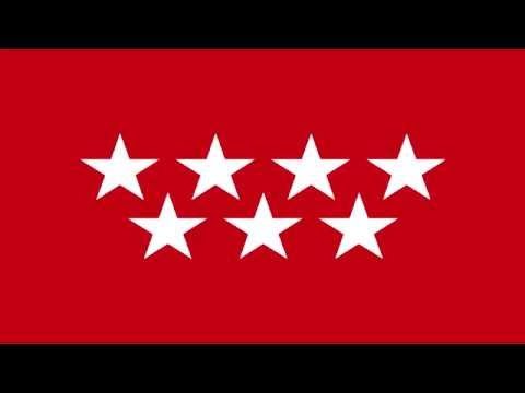 Bandera Regional de la Comunidad de Madrid (España) - Regional Flag of Community of Madrid (Spain)