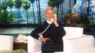 Surprise Phone Call from Ellen