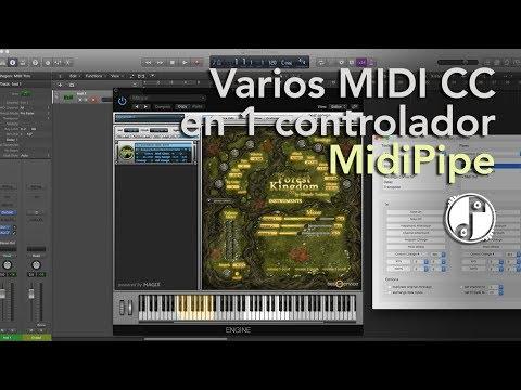 Varios MIDI CC en 1 controlador!! (MIDI Pipe) - Producción y Composición    TUTORIAL #1