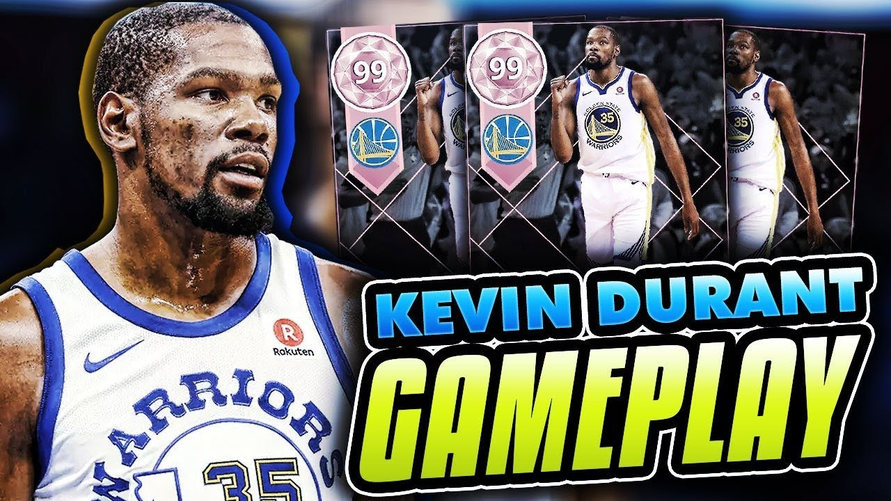 0c7eb34c8083 NEW FINALS MVP PINK DIAMOND KEVIN DURANT 70 POINT GAMEPLAY! BEST CARD IN  THE GAME ! NBA 2K18 MYTEAM