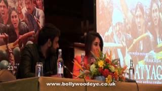 Satyagraha trailer launch in London