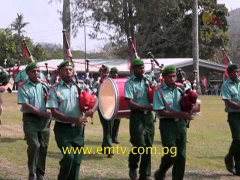 PNGDF Pipes and Drum Band Plans to Expand