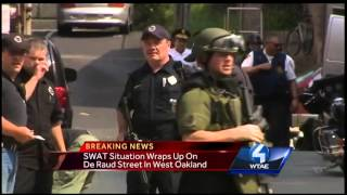 SWAT called to West Oakland