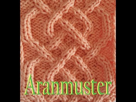 Zopfmuster Stricken Aranmuster Saxon Braid