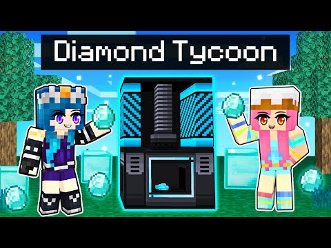 Being the RICHEST in Minecraft Diamond Tycoon!