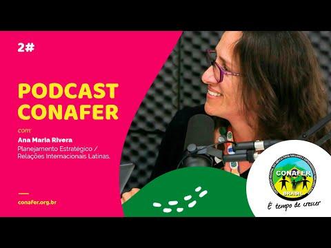 Podcast Rádio CONAFER #2 Desmistificando a Tecnologia com Ana Maria Rivera