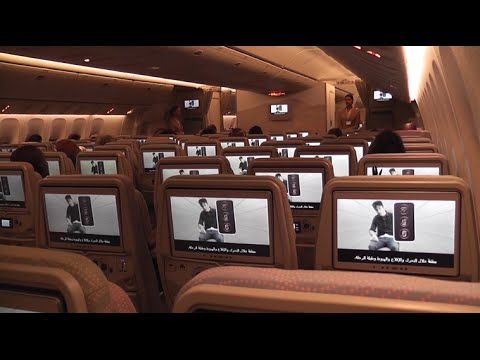 Emirates' latest Economy Cabin Inflight Experience