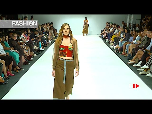 STITCH AND STEEL Spring Summer 2017 SAFW - Fashion Channel