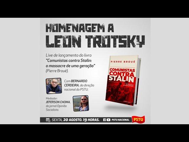 """Live de lançamento do livro """"Comunistas contra Stalin: o massacre de uma geração"""""""