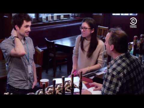 Impractical Jokers British Invasion - Flirty Barman | Comedy Central