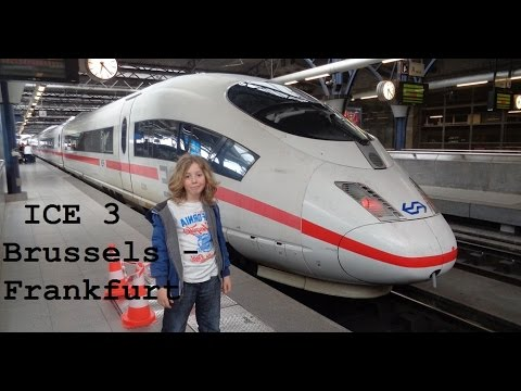 ICE3 from Brussels to Frankfurt (Great Train Trip Pt2) - CAMT036