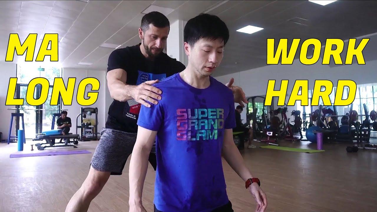 Ma Long - Supplementary Training - Work Hard