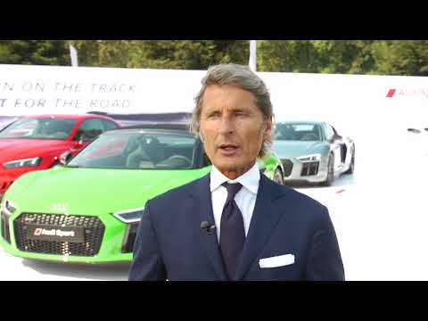 Audi Sport at The Quail - Interview with Stephan Winkelmann, CEO, Audi Sport