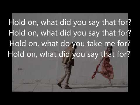 Angus & Julia Stone Hold On Lyrics