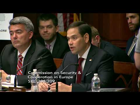 Rubio discusses Russia's cyber warfare threats in Europe