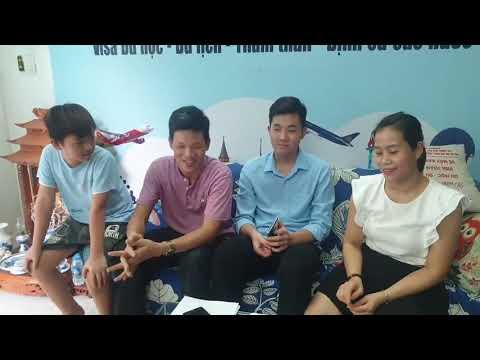 Du học Huy Hoàng trao visa du học Mỹ 2021