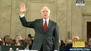 Jeff Sessions FULL Opening Statement Interrupted By Protesters At 04:49