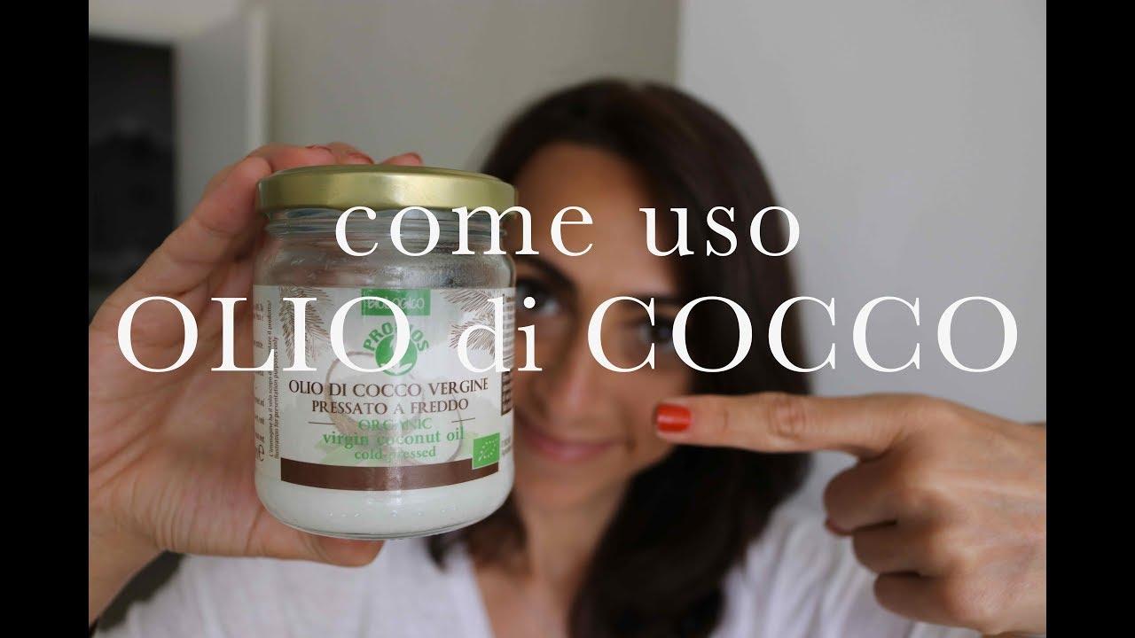 Olio di cocco - Crema Viso