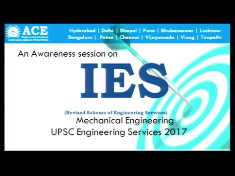 Revised Pattern for Mechanical Engineering (ESE) IES 2017 Exclusive