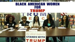 BLACK AMERICAN WOMEN COALITION FOR TRUMP