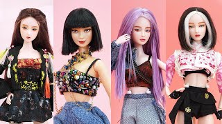 20 DIY Ideas for Your Barbies to Look Like BLACKPINK | Making Easy Hacks for Barbie Doll