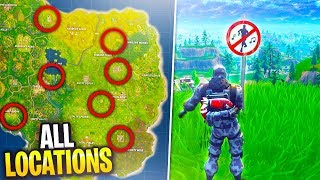 """*NEW* ALL """"Dance in Forbidden Locations"""" Battle pass Challenge Week 2 in Fortnite: Battle Royale!"""