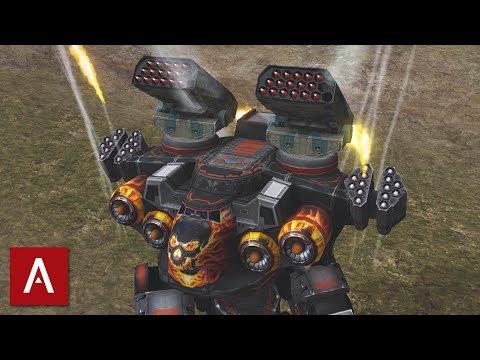 War Robots Test Server Gameplay: Zenit Buff