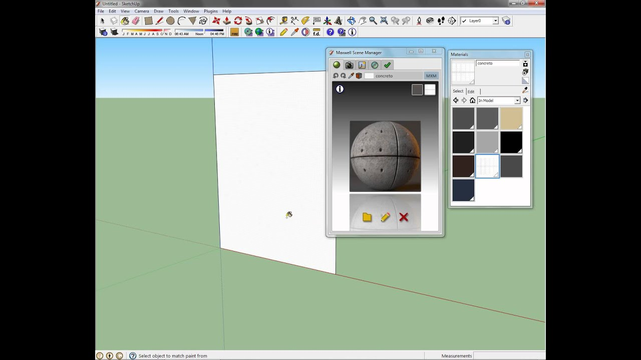 maxwell render for google sketchup free download