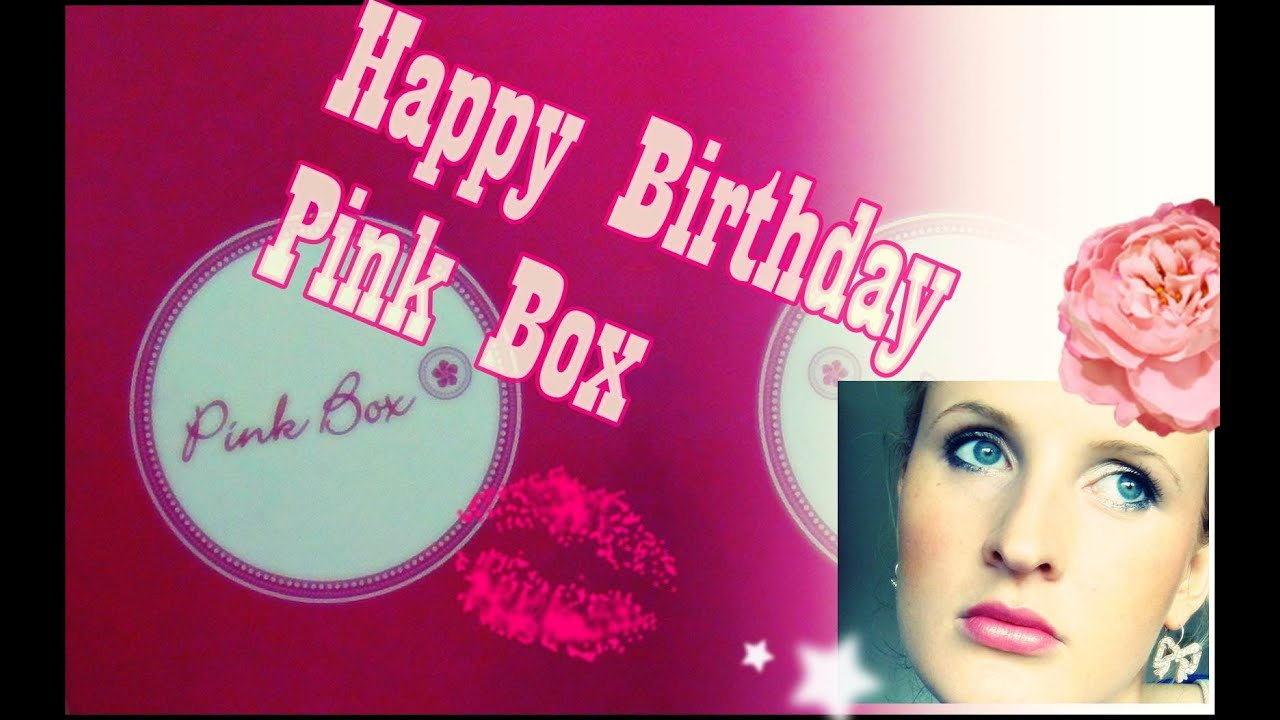 Pink Box April 2013 Unboxing - YouTube