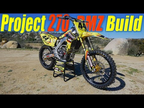 Suzuki RMZ270 Project Build - Dirt Bike Magazine