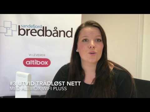 Sandefjord Bredbånd Tips#2 Bedre trådløst nett (wifi)