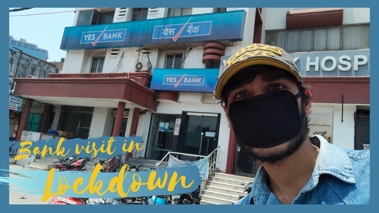 Lockdown के बीच जब जाना पड़ा था बैंक। Noida । GB Nagar । Wanderer Abhishek