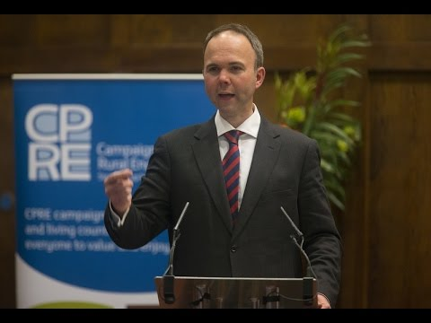 Housing Minister Gavin Barwell at CPRE Annual Lecture