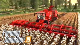 #59 - MEGA RACCOLTA DI COTONE -  FARMING SIMULATOR 19 ITA RUSTIC ACRES
