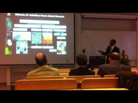 Shakhawat PhD defence at SLU, Sweden