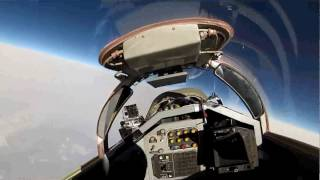 "From The Pilots Seat: ""Suborbital Space Training in MiG-29"". Our tourist from Poland - 03/2014!"