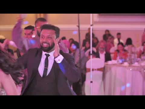 Groom's Surprise Performance for Bride - Reception Bollywood Dance