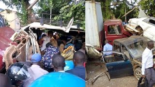 At least 20 injured in kiira accident