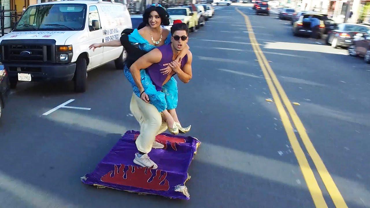 Aladdin Magic Carpet San Francisco Youtube