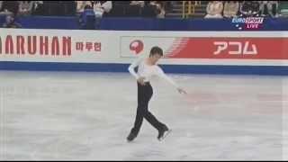 町田樹 2014 世界選手権 SP ESP (ドイツ語訳付) 町田樹 検索動画 3