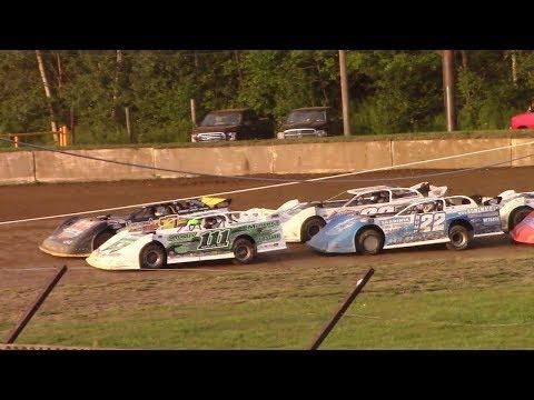 Super Late Model Heat One | Eriez Speedway | 8-6-17